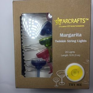 Other - Starcrafts Margarita Twinkle String Lights